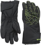 Spyder Boy's Mini Overweb Ski Glove (Toddler/Little Kids/Big Kids) Skiing Gloves LG