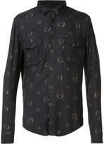 OSKLEN bay leaves printed shirt - men - Viscose - P