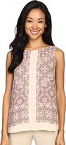 Nic+Zoe Women's Batik Nights Tank