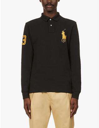 Polo Ralph Lauren Long sleeve cotton polo shirt