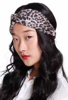 Genie by Eugina Kim Genie By Eugina Kim Penny Twist Turban Headband in Leopard