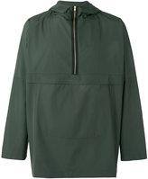 Oliver Spencer half zip cagoule jacket