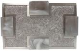 Sondra Roberts Metallic Clutch