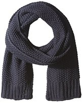 French Connection Men's Moss Stitch Scarf