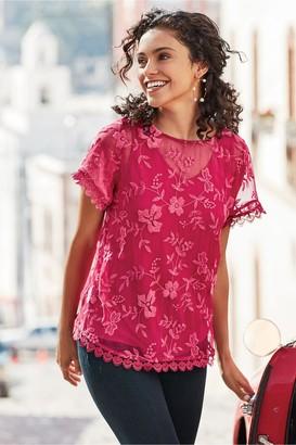 Soft Surroundings Women Alisanne Silk Tunic