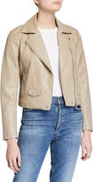 Cupcakes And Cashmere Ines Vegan Leather Moto Jacket