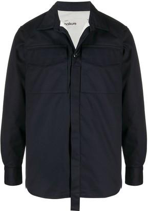 Haikure Chest-Pocket Shirt Jacket