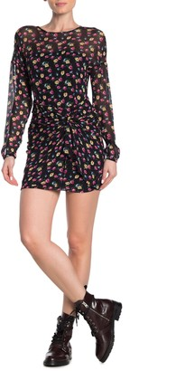 AllSaints Rylie Floral Long Sleeve Mini Dress