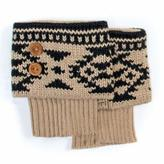 Muk Luks Women's Fair Isle Boot Toppers