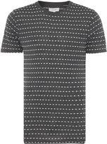 Soulland Fernell Regular Fit Embroidered Dot T Shirt