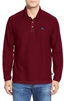 Tommy Bahama Men's Big & Tall 'Emfielder' Long Sleeve Polo