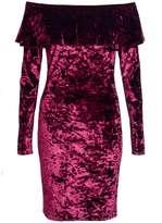 Quiz **Quiz Velvet Bodycon Dress