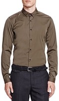 The Kooples Paper Popeline Slim Fit Button Down Shirt