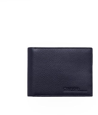 Calvin Klein Navy Blue Leather Wallet