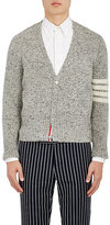 Thom Browne Men's Block-Striped Wool-Mohair Cardigan