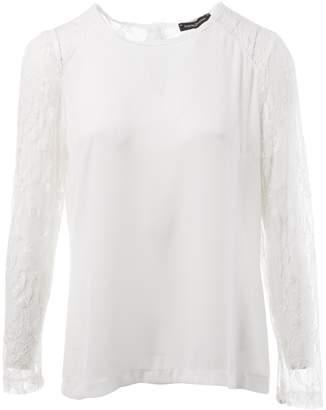 La Petite Francaise White Top for Women