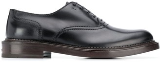 Salvatore Ferragamo Wide-Sole Lace-Up Shoes