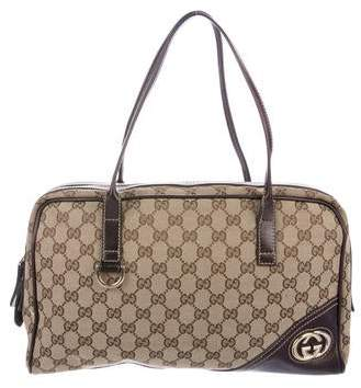 68ed6b28e Gucci Canvas Bag - ShopStyle