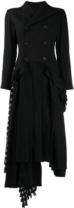 Yohji Yamamoto Double-Breasted Panelled Dress