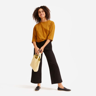 Everlane The Wide-Leg Crop Pant