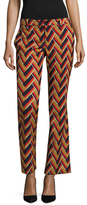 Gucci Wool Printed Flared Pant