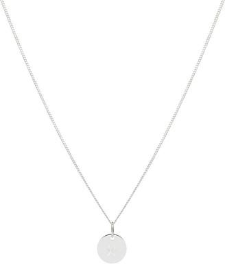 Tesori Bellini Zodiac 1.2 Necklace, Pisces: Silver