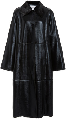 Stand Studio Nino Faux-Leather Coat