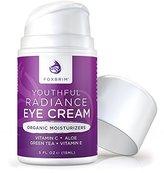Foxbrim Youthful Radiance Eye Cream for Dark Circles & Puffiness, .5 oz/15 ml