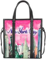 Balenciaga Bazar S New York shopper tote bag