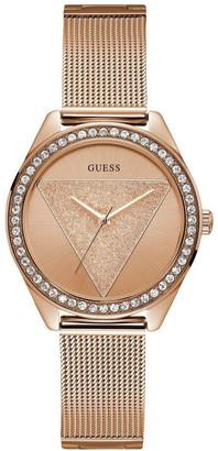 GUESS W1142L4 Tri Glitz Rose Gold Watch