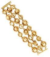 Oscar de la Renta Multistrand Woven Link Bracelet