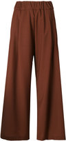 Semi-Couture Semicouture - wide leg trousers - women - Polyester/Spandex/Elastane/Virgin Wool - 38