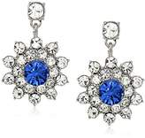 Carolee Cluster Drop Earrings