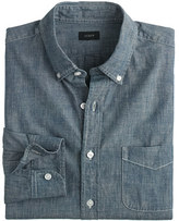 J.Crew Indigo Japanese chambray shirt