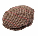 Dents Dogtooth Flat Cap