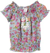 Mimi & Maggie Bella Peasant Blouse (Little Girls)