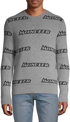 Moncler Logo Print Sweater