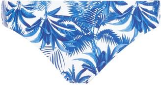 John Lewis & Partners Palm Tree Bikini Briefs, Blue