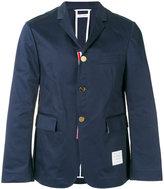 Thom Browne three button blazer - men - Cotton - 3