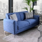 Bronx Woodbranch Loveseat Ivy Upholstery Color: Blue