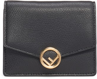 Fendi Leather Wallet on a Chain