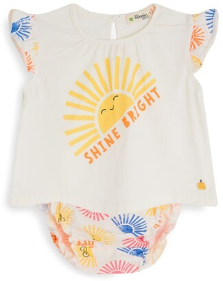 The Bonnie Mob Sun Print Top And Bloomers Set (3-24 Months)