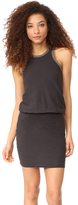 James Perse Racer Back Blouson Dress