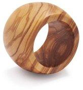 Sur La Table Olivewood Napkin Ring NH21207L