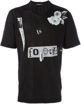 Dolce & Gabbana love is forever patch T-shirt