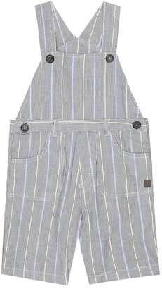 Tartine et Chocolat Baby striped stretch-cotton overalls