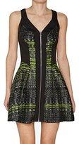 Robert Rodriguez Women's Grid Print Jacquard Dress