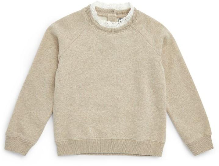 Bonton Lace-Trim Sweatshirt (4-12 Years)