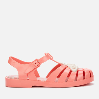 Melissa Women's Possession Contrast Orb Sandals - Coral