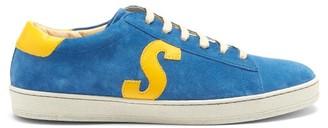 Paul Smith Hassler Logo-applique Suede Trainers - Blue